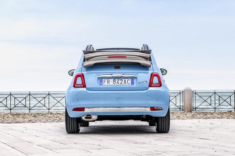 Foto Trasera Fiat 500c-spiaggina Descapotable 2018