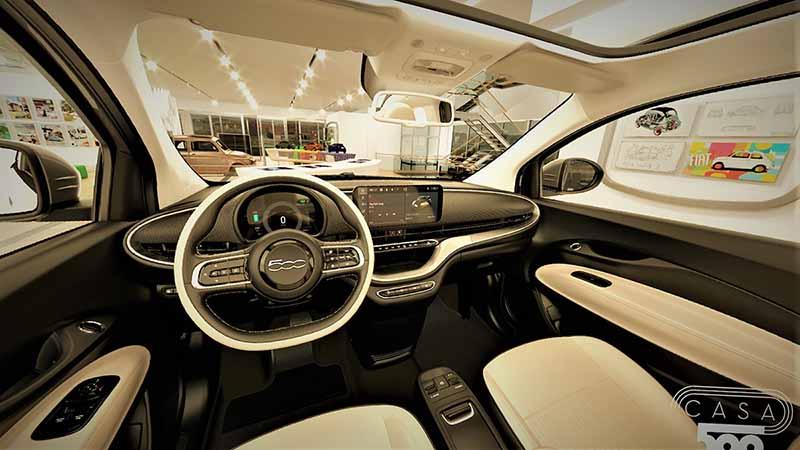 Foto Interior Fiat 500e Dos Volumenes 2020