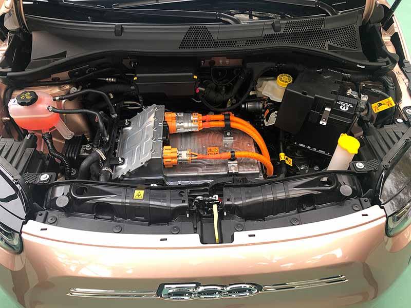 Foto Tecnica Fiat 500e Dos Volumenes 2020