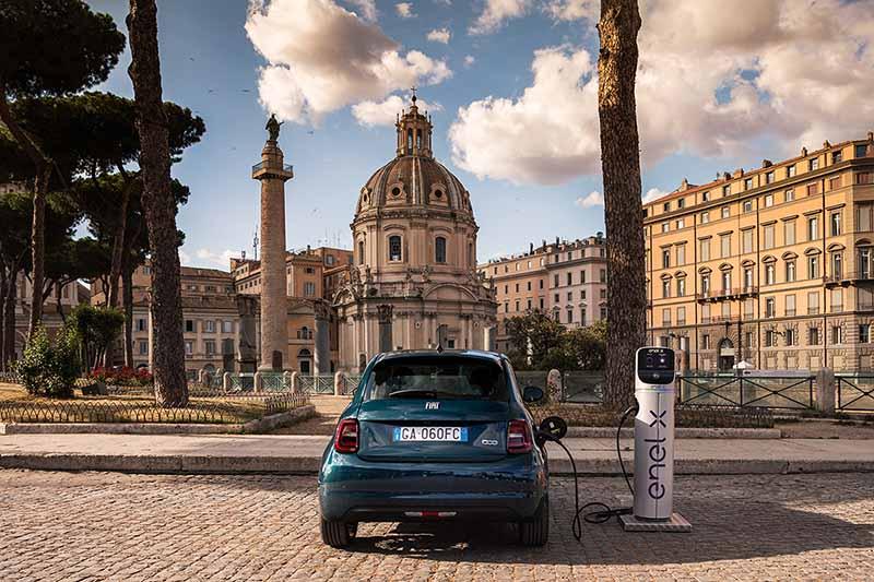 Foto Trasera(1) Fiat 500e Dos Volumenes 2020