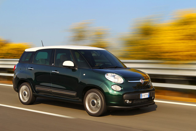 Foto Exteriores Fiat 500l Living Monovolumen 2013