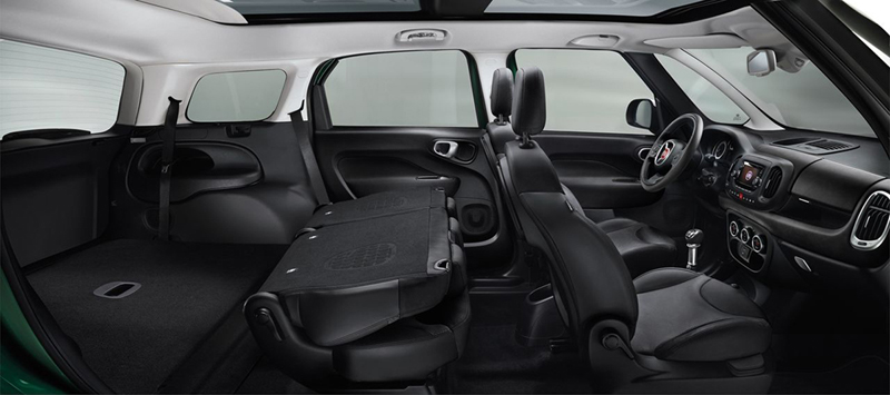 Foto Interiores Fiat 500l Living Monovolumen 2013