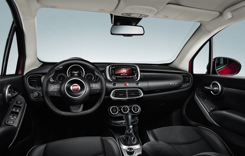 Foto Salpicadero Fiat 500x Suv Todocamino 2015