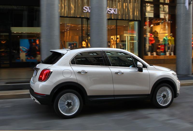 Fiat 500X parte posterior