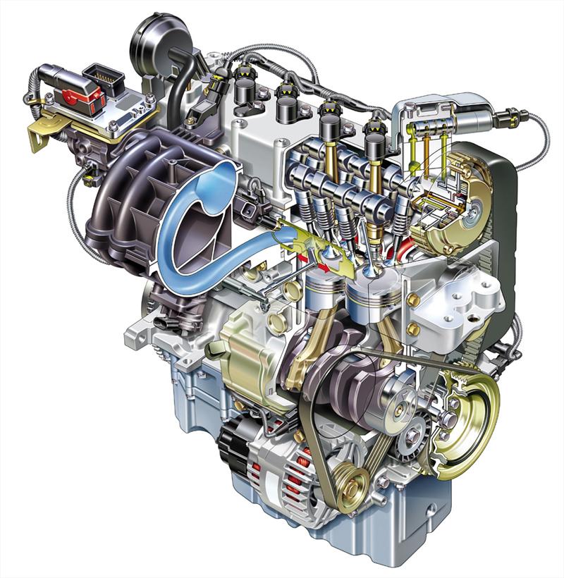 Foto 1400 Fiat Motores Gasolina