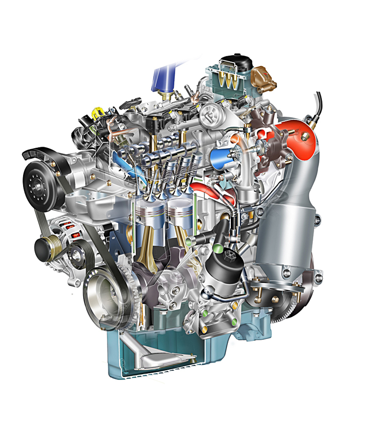 Foto 1400 tjet1 Fiat Motores Gasolina