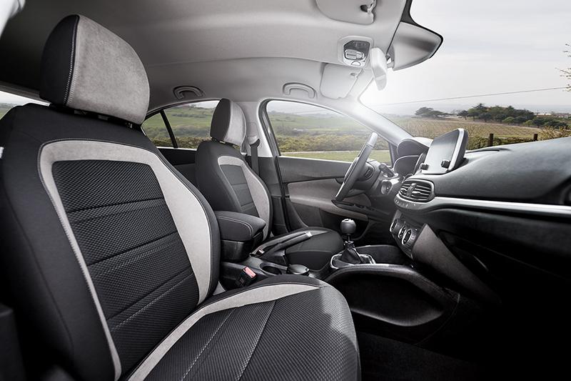 Foto Interiores Fiat Tipo Dos Volumenes 2016