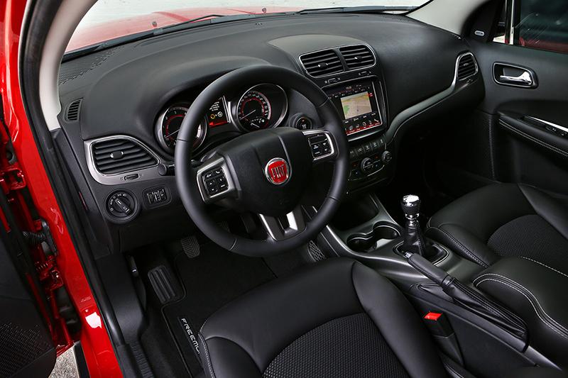 Foto Interiores Fiat Freemont Cross Suv Todocamino 2014