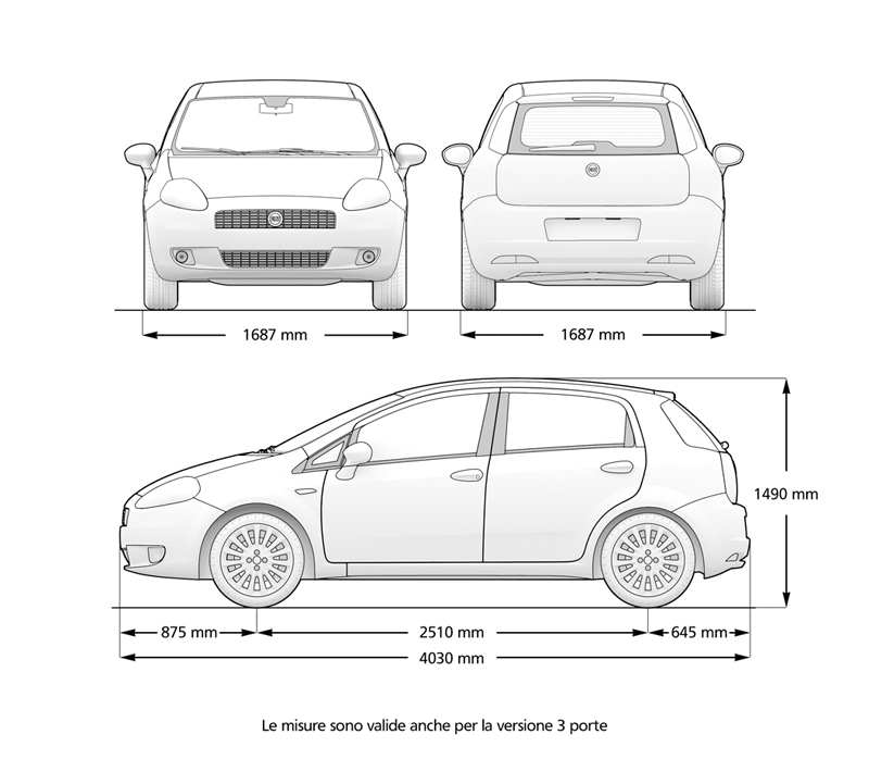 Foto Tecnicas Fiat Grande Punto Dos Volumenes 2007