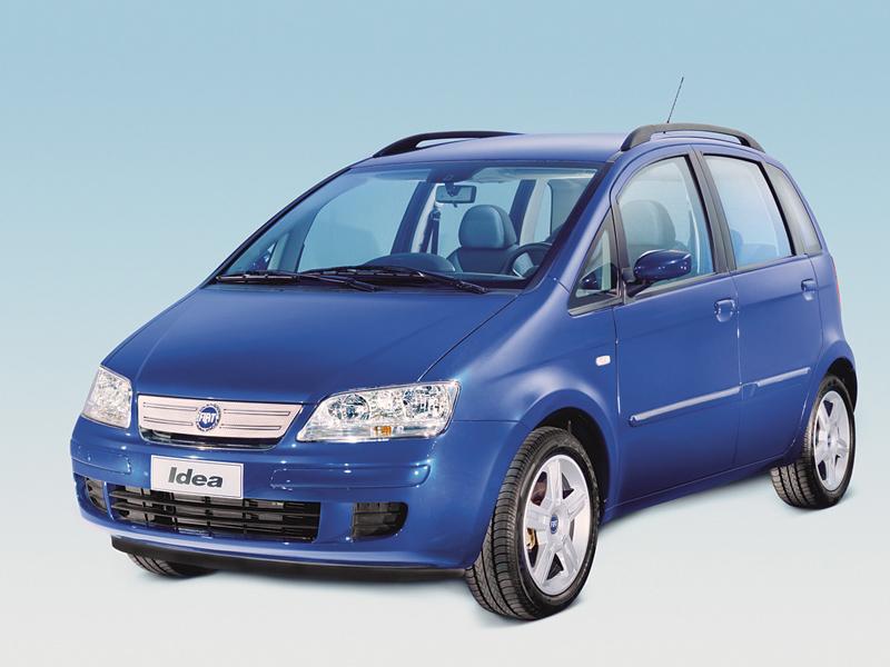 Foto Delantero Fiat Idea Monovolumen 2006