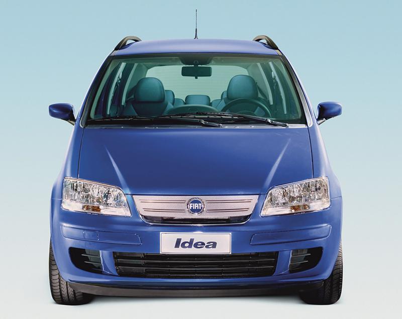 Foto Frontal Fiat Idea Monovolumen 2006