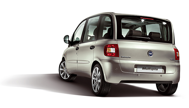 Foto Exteriores Fiat Multipla Monovolumen 2007