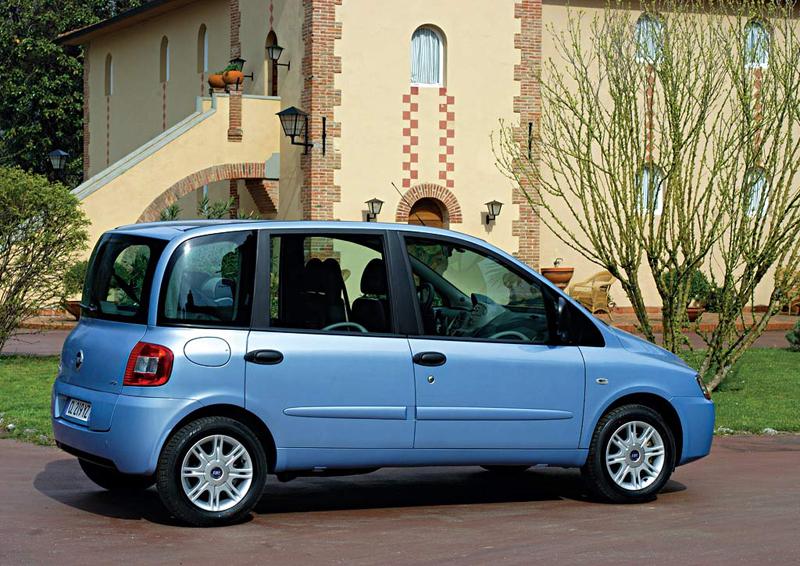 Foto Lateral Fiat Multipla Monovolumen 2007