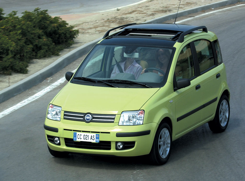 Foto Delantero Fiat Panda Dos Volumenes 2006
