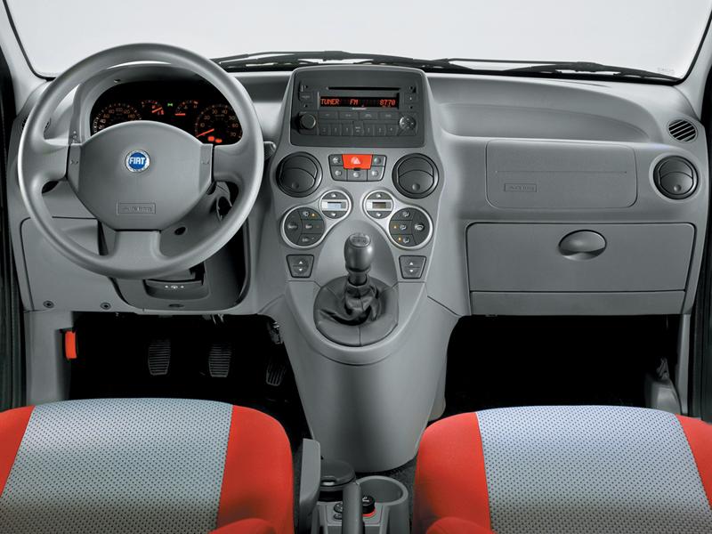 Foto Interiores Fiat Panda Dos Volumenes 2006