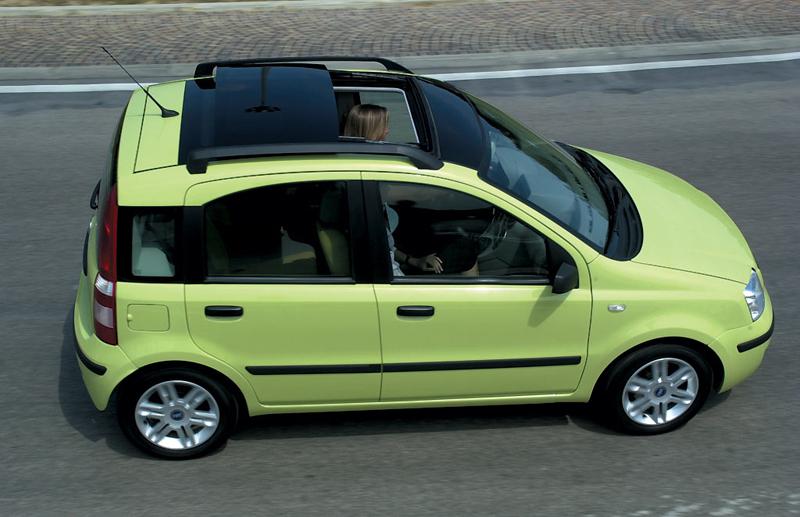 Foto Lateral Fiat Panda Dos Volumenes 2006