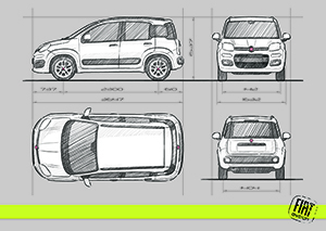 Foto Tecnicas Fiat Panda Dos Volumenes 2012