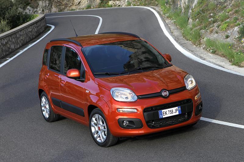 Foto Frontal Fiat Panda Dos Volumenes 2012