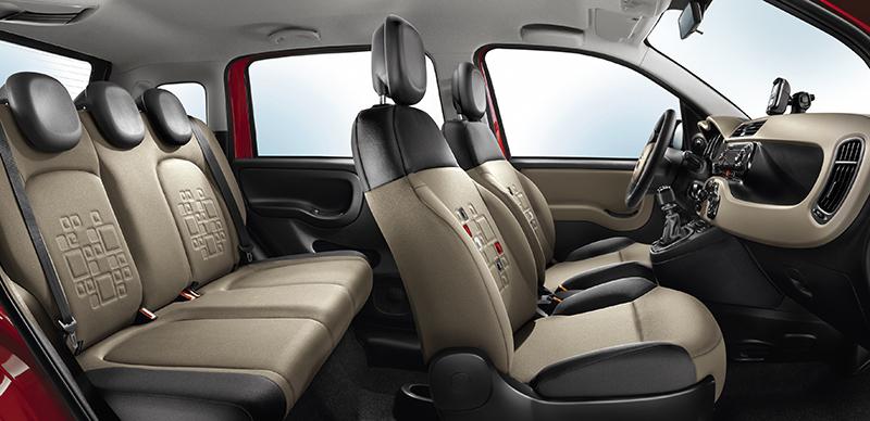 Foto Interiores Fiat Panda Dos Volumenes 2012