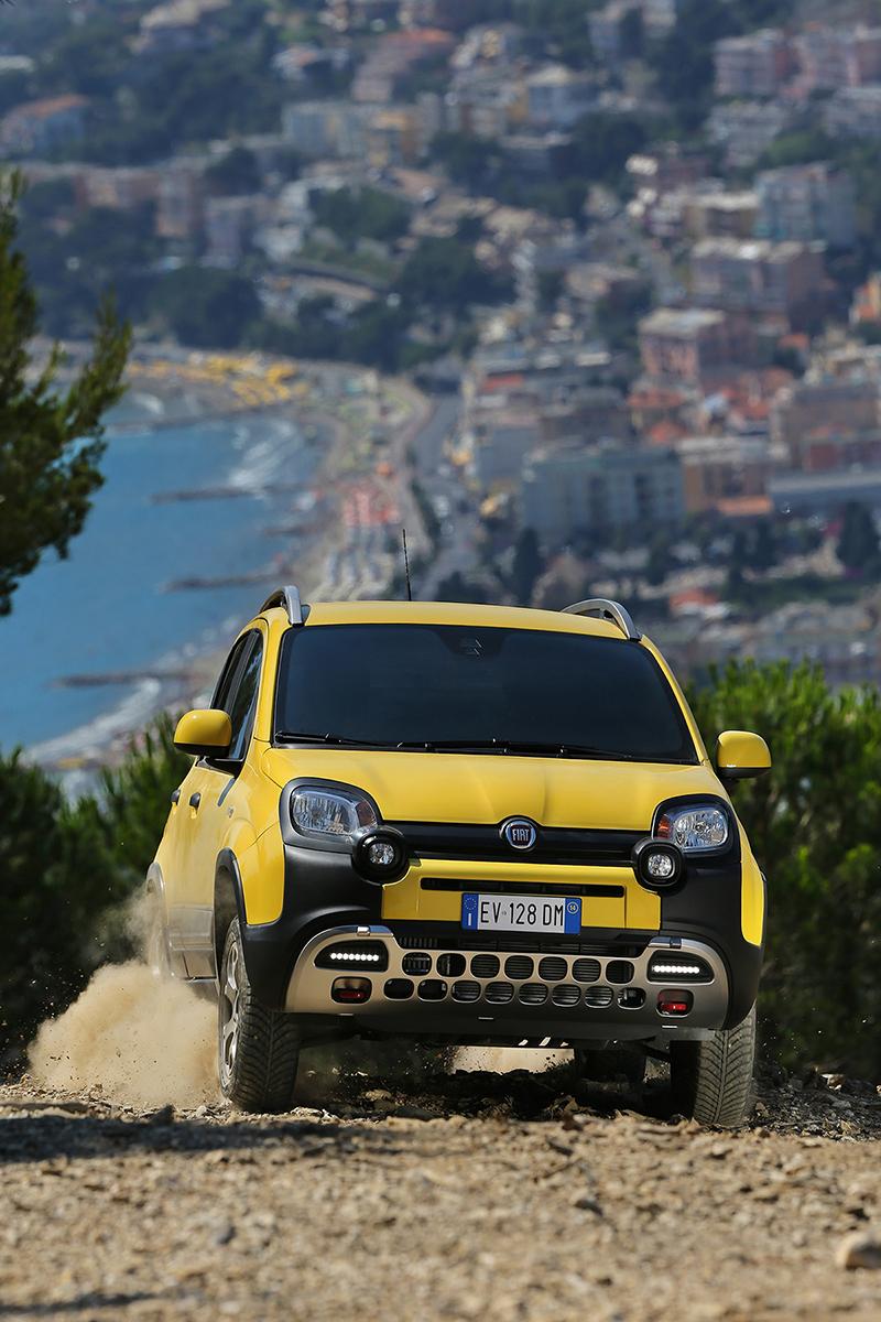 Foto Delantera Fiat Panda Cross Suv Todocamino 2014