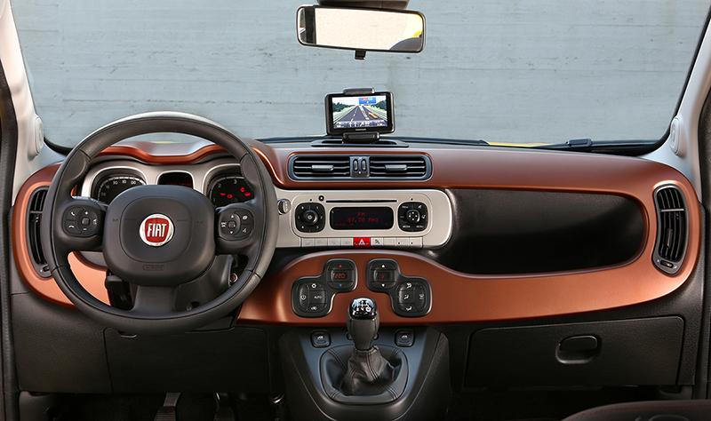 Foto Interiores Fiat Panda Cross Suv Todocamino 2014