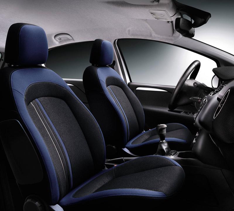 Foto Interiores Fiat Punto Dos Volumenes 2012