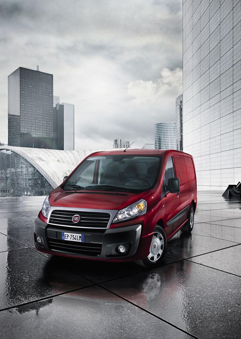 Foto Delantera Fiat Scudo Vehiculo Comercial 2013