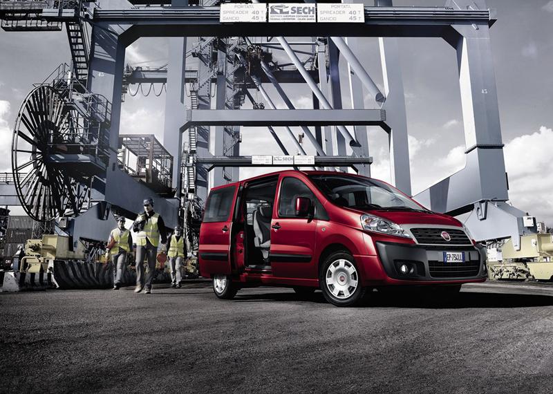 Foto Exteriores (5) Fiat Scudo Vehiculo Comercial 2013