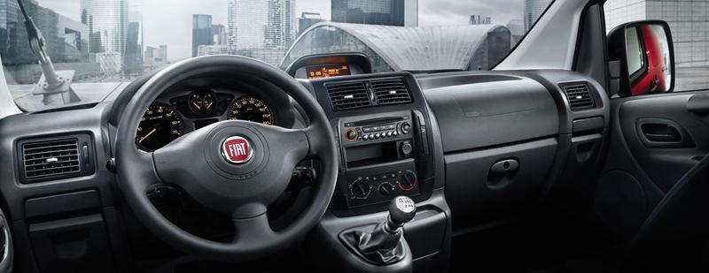Foto Interiores (3) Fiat Scudo Vehiculo Comercial 2013