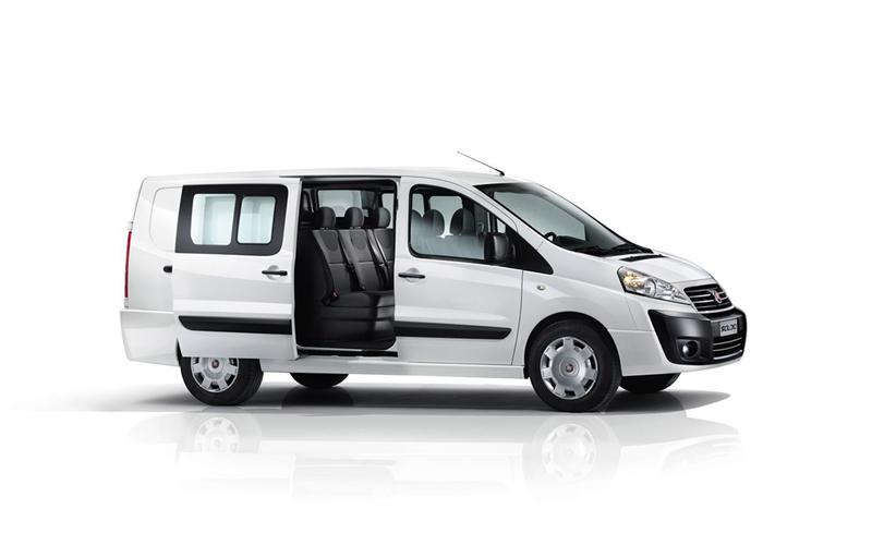 Foto Lateral Fiat Scudo Vehiculo Comercial 2013