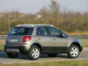 Foto Lateral Fiat Sedici Suv Todocamino 2007
