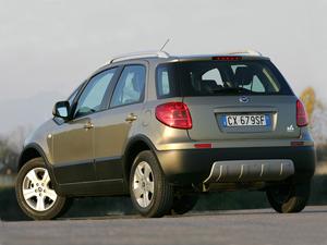 Foto Trasero Fiat Sedici Suv Todocamino 2007