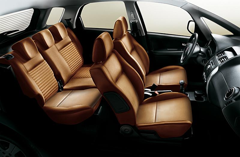 Foto Interiores Fiat Sedici Suv Todocamino 2007