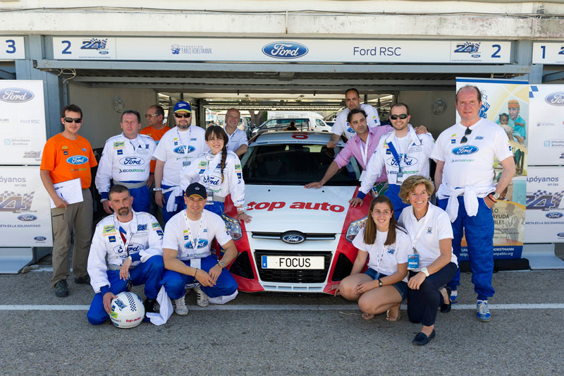 Foto 24 H Ford Carrera Ford 24 Horas Ford 2013