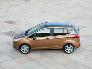 Ford B-Max en el Sal�n del Autom�vil de Par�s 2012