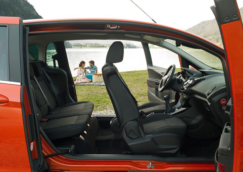 Interiores Ford B-Max