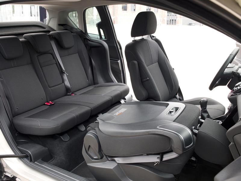 Foto Interiores Ford B Max Monovolumen 2012