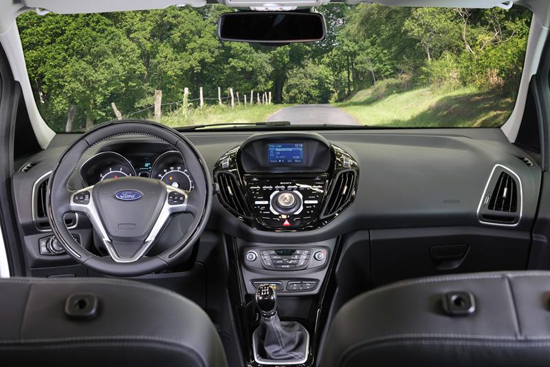 Ford B-Max, análisis plazas delanteras