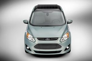 Foto Delantera Ford C-max-solar-energi-concept Monovolumen 2014