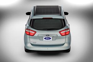 Foto Trasera Ford C-max-solar-energi-concept Monovolumen 2014