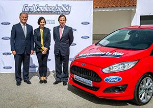 Foto Rueda Prensa Ford Conduce Tu Vida (1) Ford Cursos-ford-conduce-tu-vida-2016