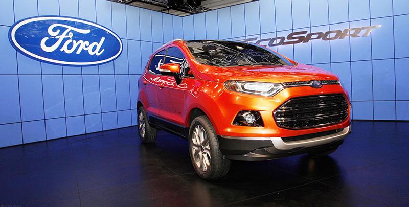 Foto Exteriores Ford Ecosport Suv Todocamino 2013