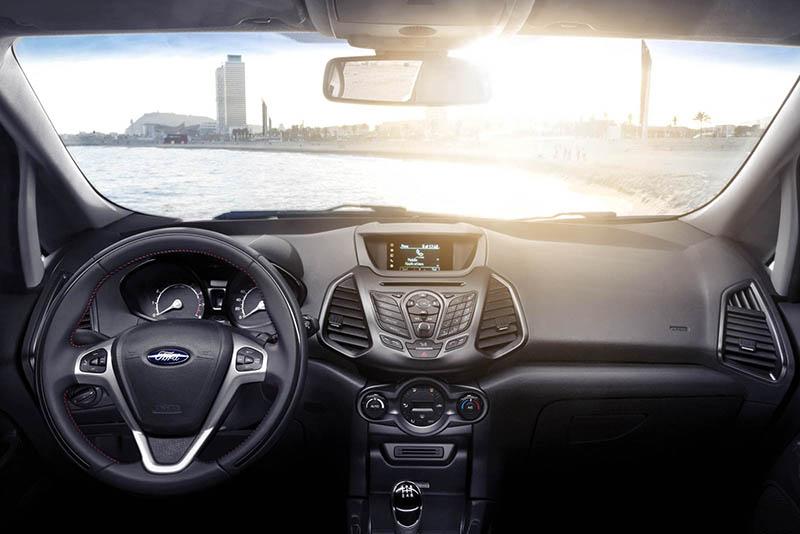 Foto Interiores Ford Ecosport Suv Todocamino 2013