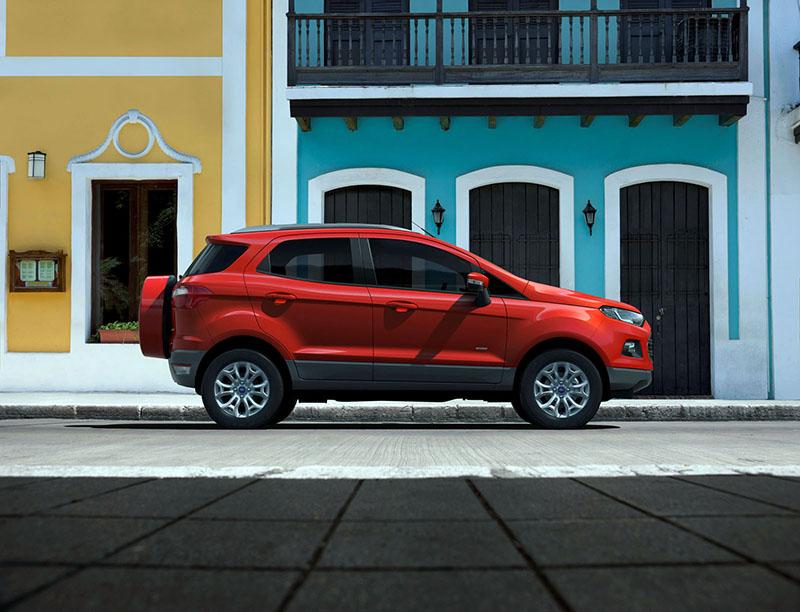 Foto Perfil Ford Ecosport Suv Todocamino 2013