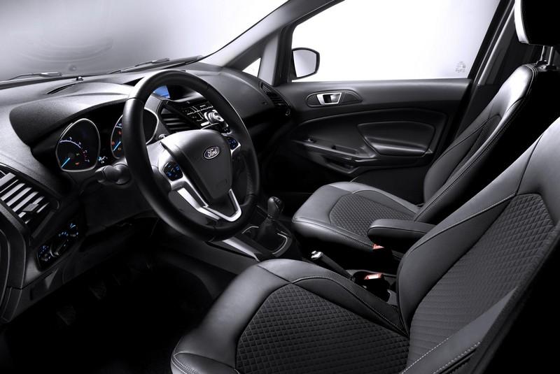 Foto Interiores Ford Ecosport Suv Todocamino 2015