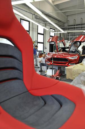Foto Fabricacion  (15) Ford Evos Concept 2011