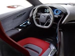 Foto Interiores  (3) Ford Evos Concept 2011