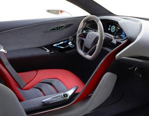 Foto Interiores  (5) Ford Evos Concept 2011