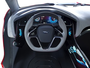 Foto Interiores  (7) Ford Evos Concept 2011