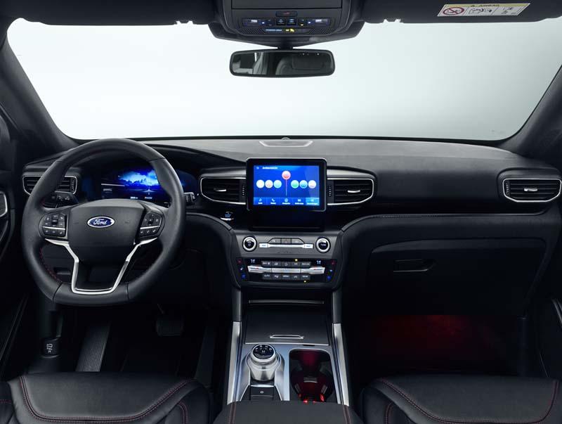 Foto Salpicadero Ford Explorer Suv Todocamino 2020